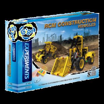 Experiments - RCM Construction Vehicles