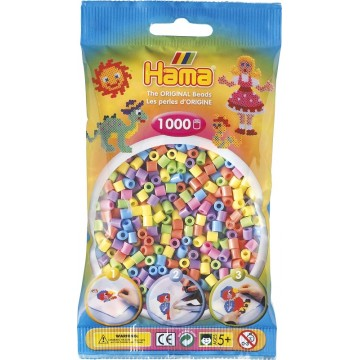 HAMA - Midi - 1,000 bead bag (mixed pastel)
