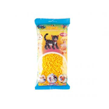 HAMA - 6,000 Midi Beads (Yellow)