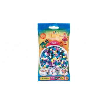 HAMA - 1,000 beads Mix 69 Color No.