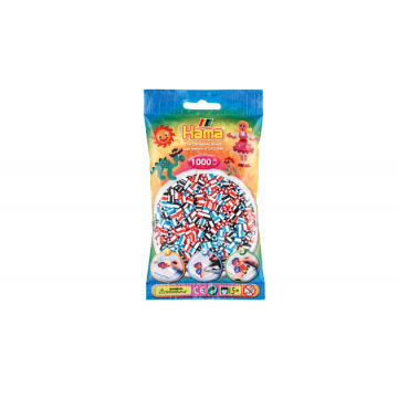 HAMA - (No.91) 1,000 beads Mix-strip