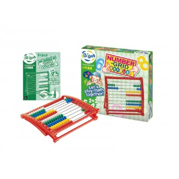Gigo Teaching Aid Number-Grid Abacus