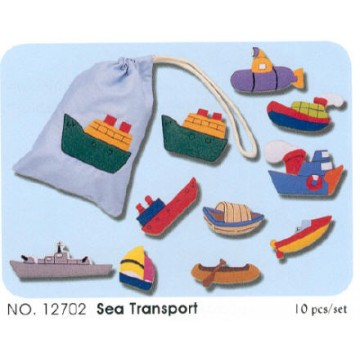 Felt Bags - Sea Transport