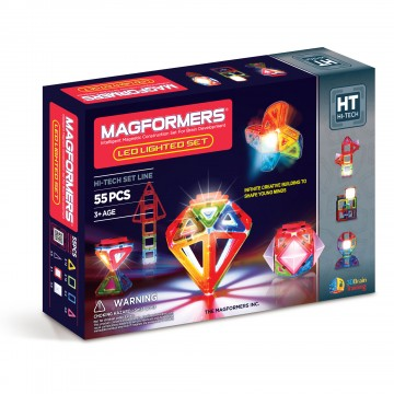 Magformers - LED Lighted Set (55 pcs)