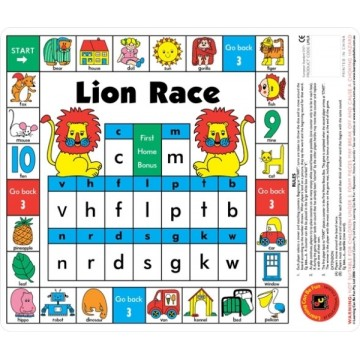 Desk Game - Lion Race