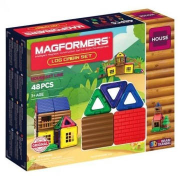 Magformers - Log Cabin Set