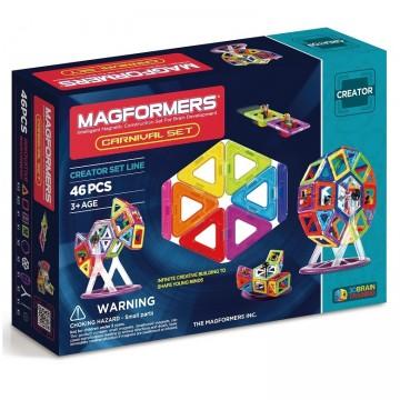 Magformers - Carnival Set (46 pcs), magnetic