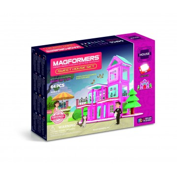 Magformers - Sweet House Set (64pcs)