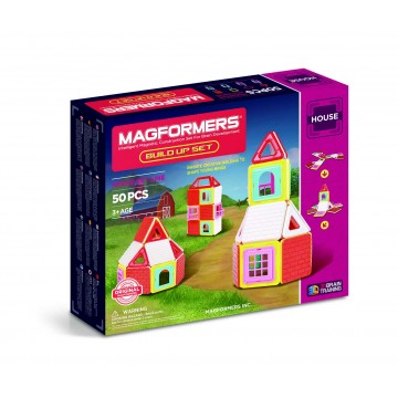 Magformers - Build Up Set (50pcs), magnetic