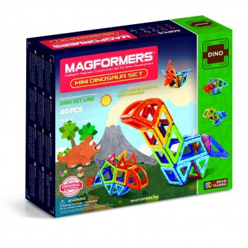 Magformers - Mini Dinosaur Set (40pcs)