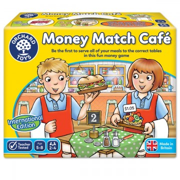 Orchard Toys International Money Match Cafe (Counting Game)