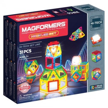 Magformers Neon LED set (31 pcs)