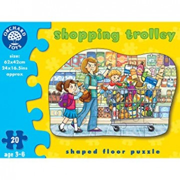 Orchard Toys Floor Puzzle - Shopping Trolley