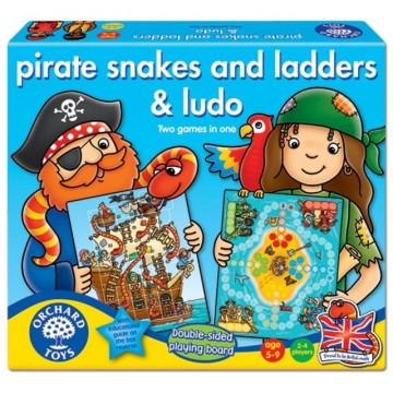 Orchard Toys Game - Pirate Snakes & Ladders & Ludo
