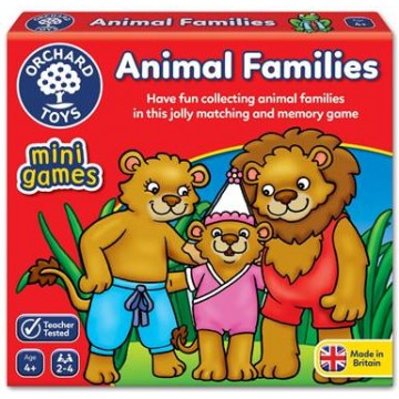 Orchard Toys Mini Games - Animal Families