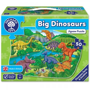 Orchard Toys - Big Dinosaurs Jigsaw Puzzle | Age 4+