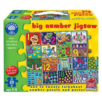 Orchard Toys Floor Puzzles - Big Number Jigsaw