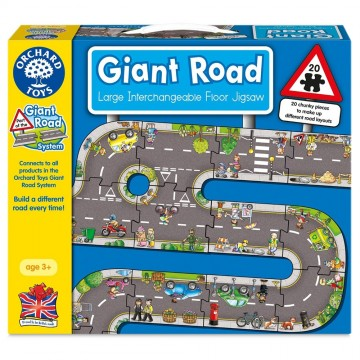Orchard Toys Giant Road System - Giant Road Jigsaw Puzzle