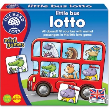 Orchard Toys Mini Games - Little Bus Lotto