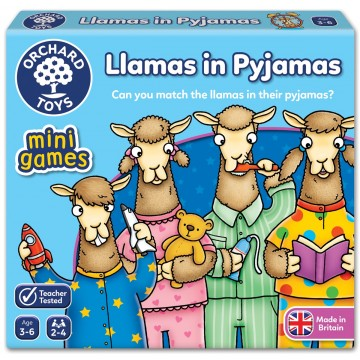 Orchard Toys Mini Game – Llamas in Pyjamas