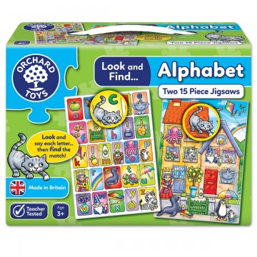 Orchard Toys Look and Find Jigsaw – Alphabet