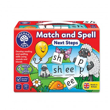 Orchard Toys Game - Match and Spell (Next Step)
