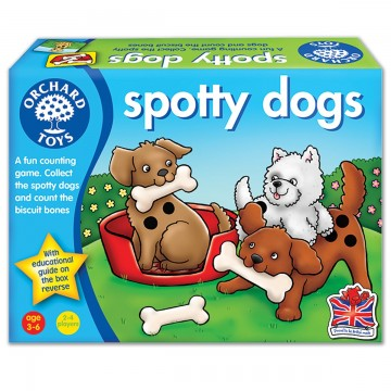 Orchard Toys Counting Game - Spotty Dogs