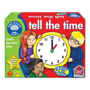 Orchard Toys Game - Tell the Time