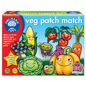 Orchard Toys Game - Veg Patch Match