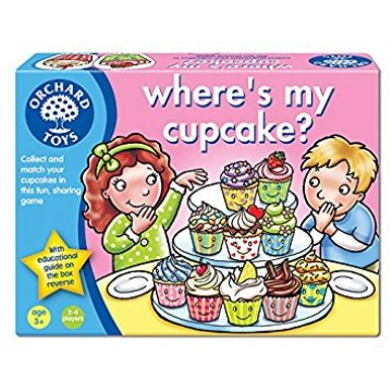 Orchard Toys Game - Where's My Cupcake?