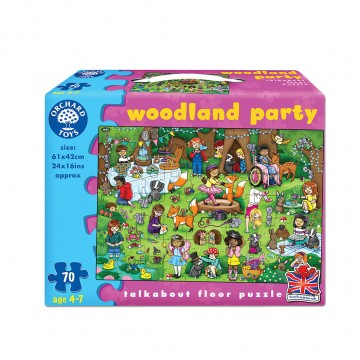 Orchard Toys Challenging Puzzle - Woodland Party