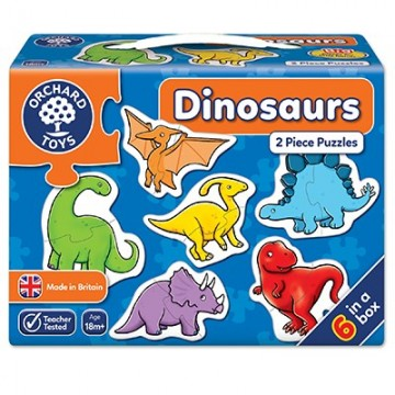 Orchard Toys Jigsaw Puzzles - Dinosaurs