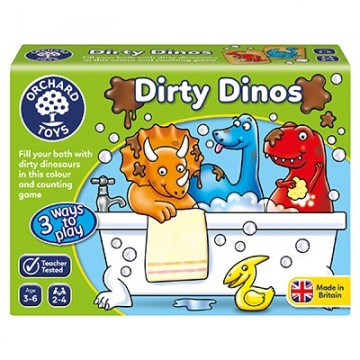 Orchard Toys Games - Dirty Dinos Game | Age 3 - 6