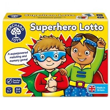 Orchard Toys Game - Superhero Lotto