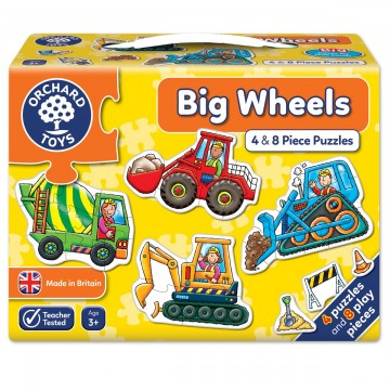 Orchard Toys First Puzzle - Big Wheels