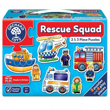 Orchard Toys First Puzzle - Rescue Squad