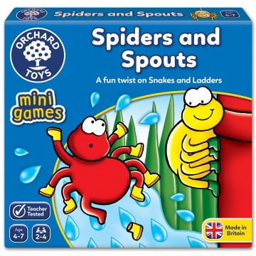 Orchard Toys Mini Game (Counting) – Spiders and Spouts