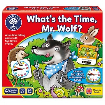 Orchard Toys Game - What's the Time, Mr Wolf Game | Age 5 - 9